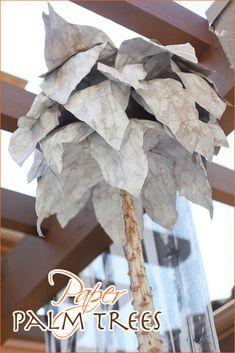 DIY Decor: Paper Palm Trees // Hostess with the Mostess®
