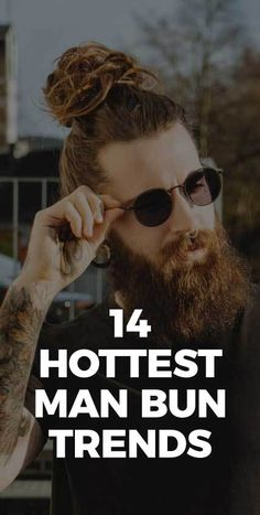 Nothing looks more sexier than a bearded man with a hair bun.So here we've found you 14 Hottest Man Bun and Beard combos that you will absolutely love. Man Bun Hairstyles, Cool Hairstyles For Men, Mens Style Guide, Men Style Tips, Latest Mens Fashion, Men's Fashion, Hollywood Actor, Face Shapes, Bearded Men