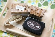 How to make fabric labels for craft projects...so smart and awesome! :)