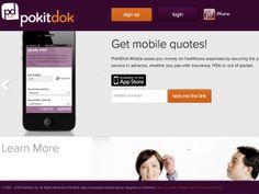 医療・健康増進サービスの内容や料金を比較できるサイト「PokitDok」、モバイル版を新たに展開