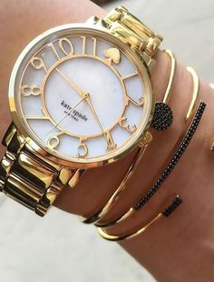 Kate Spade 'gramercy' mother-of-pearl bracelet watch at Nordstrom - Trendslove