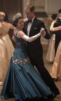 c180a005c9 Matt Smith and Claire Foy in The Crown (2016) The Crown Season 2