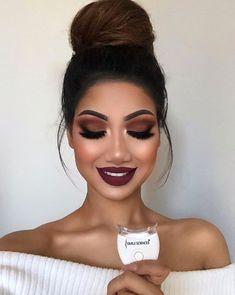Amazing Wedding Makeup Tips – Makeup Design Ideas Wedding Makeup Tips, Prom Makeup, Cute Makeup, Gorgeous Makeup, Hair Makeup, Perfect Makeup, Beauty Makeup, Bridesmaid Makeup, Bridal Makeup