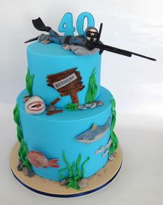 Spear-fisher - Cake by Have Some Cake