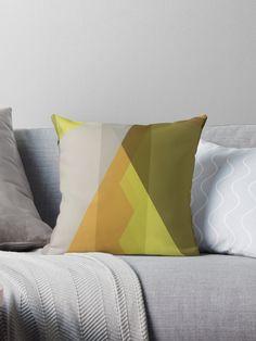"""Retro Modern Tangle"" Designer  Decorative Throw Pillow. #homedecor #retrodecor #retromodern #Moderndecor #throwpillow by Innovationgnsis"