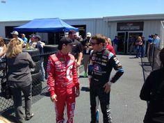 Kasey & Kyle Larson