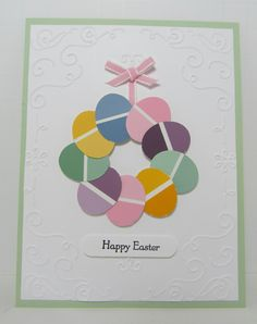 Paint Chip Inspiration #6 - Easter Paint Chip Wreath