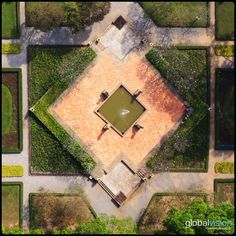 A park in viewed from the sky by GlobalVision's Aerial Images, Southeast Asia, Cambodia, Switzerland, Fields, Sky, Park, Heaven, Heavens
