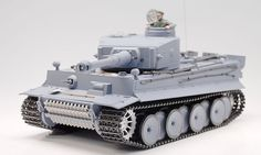 RC Tanks :: 1:16 German Tiger RC Battle Tank 3818 Cool Gift - RC Helicopter Select: Top Radio Control Helicopters from Top Brands