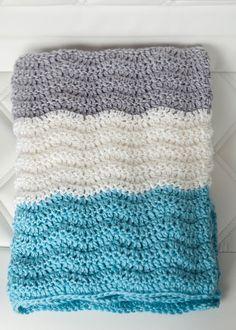 Free Chevron Baby Blanket Crochet Pattern - Leelee KnitsLeelee Knits