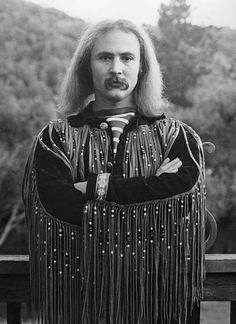 David Crosby: owner of stellar third eyebrow and THIS jacket, and the best voice in CSNY.