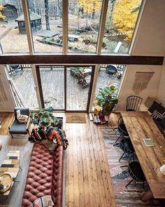 53 Favourite Tiny House Design Ideas - Home-Garden-Design-Decoration Home Garden Design, Home Design Decor, Dream Home Design, Tiny House Design, Modern House Design, Home Interior Design, Design Ideas, Diy Design, Design Room