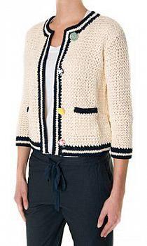 Crochet Coat, Crochet Jacket, Knit Jacket, Crochet Cardigan, Crochet Yarn, Crochet Clothes, Knitting Designs, Crochet Designs, Crochet Waffle Stitch