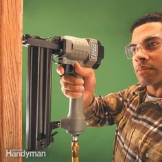 Learn to use a trim gun and you'll never want to pound another finish nail. A trim nailer will give you superior results with less effort