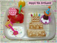 sweet little birthday lunchbox