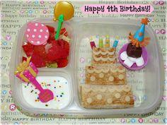 sweet little birthday lunchbox