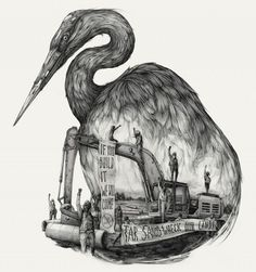 Great Lakes Tar Sands Resistance by Pat Perry