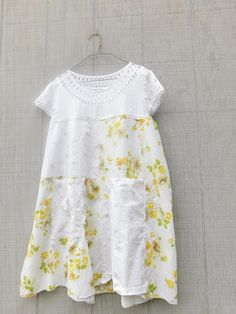 Summer Dress Floral Yellow Reclaimed Clothing Summer