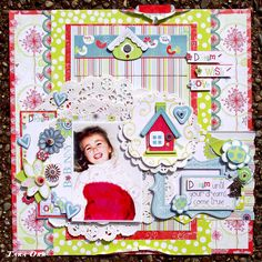Dream a Little Dream * Bo Bunny * - Scrapbook.com