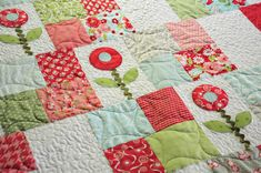 Preview of Little Quilts 4 Little Kids – Part 2 | Trends and Traditions. Love the colors.