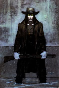Deadlands art by Brom
