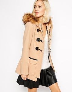 Skirted Duffle Coat | Outerwear | Pinterest | Coats ASOS and