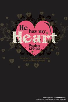 ~HE has my heart~ ~I love this~