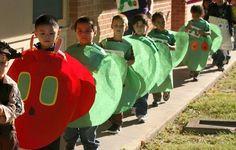 Very Hungry Caterpillar book parade idea Teacher Costumes, Book Day Costumes, Book Week Costume, Game Costumes, Group Costumes, Costume Ideas, Book Characters Dress Up, Character Dress Up, Book Character Day