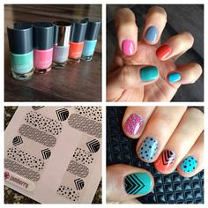 Layer Jamberry's clear nail wraps over Jamberry's professional nail lacquer... and create a look that is as one-of-a-kind as you are!