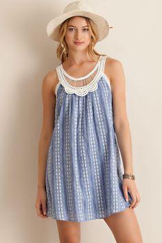Sue- Blue Dress