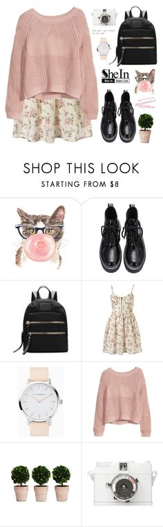 """""""Possessive   SheIn 9"""" by alexandra-provenzano ❤ liked on Polyvore featuring Retrò, BOBBY, H&M and Lomography"""