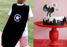 Superhero Party + Candy Buffet Theme~