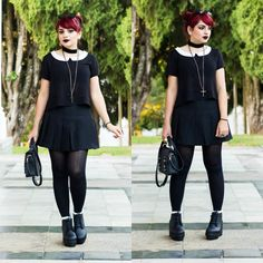 De Coturno e Spikes: Look do dia: *Witchy Vibes*