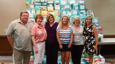 Diaper Drive 2014 - 17,000 diapers & 13,000 wipes for families in need.