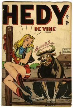 Christopher Rule(?) | Hedy Devine Comics #25 | Atlas | 1948