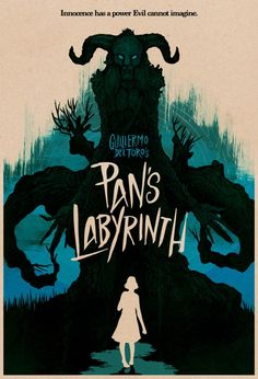 Pan's Labyrinth. Movie Poster. By Matthew Griffin - via Geek-Art