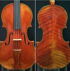 "The Joseph Hel ""Ex-Eugène Ysäye"" ‪#‎violin‬ with papers is available for trial and purchase. Rich and powerful! Gorgeous penetrating tone."