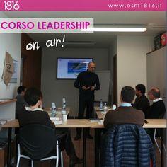 E' da poco iniziato il Corso #Leadership! Il 27 e il 28 novembre 2014 sono giornate dedicate al confronto fra #imprenditori per condividere esperienze. Vuoi saperne di più? Contattaci a info@osm1816.it oppure visita il sito all'indirizzo www.osm1816.it!