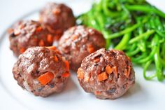 Today's Whole30®-friendly recipe is brand-new to the blog: Asian Meatballs! This East-West fusion-inspired take on classic Sunday meatballs is a hit with our entire family. These savory balls of meat and minced vegetables are a cinch to prepare, and each bite is bursting with umami from the mushrooms, fish sauce, and tomato paste. (What can...