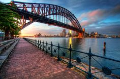 THE ROCKS - one of the oldest & first colonised parts of Sydney - PYRMONT & DARLING HARBOUR