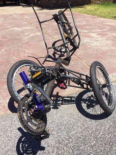 EATSRHPV - Mart's full-suspension tilting electric tadpole trike build - BentRider Online Forums