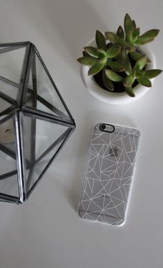 This would be an easy DIY. Just trace out a clear sheet of see through plastic. After you cut it out to go inside a see through case you can make lines or 3d shapes with an a white marker that will show up