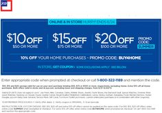Pinned June 21st: $10 off $50 and more at JCPenney, or online via promo code SUMMER coupon via The Coupons App