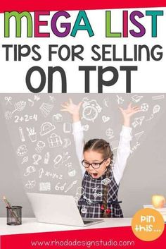A Mega list of tips and resources that will help you learn how to sell on Teachers Pay Teachers. A HUGE round-up of tips and tricks to learn how to sell on TPT. Teacher Hacks, Best Teacher, Teacher Pay Teachers, School Teacher, Teacher Resources, Education Degree, Education College, Online College, Online Jobs