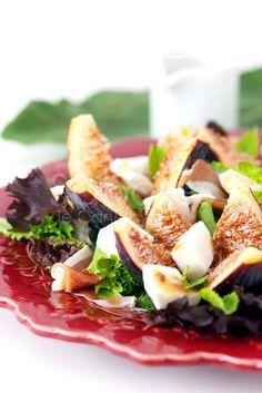 Sabores de Canela: Salada de figos e presunto