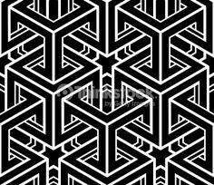 3d cube pattern - Google Search