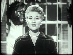 Patti Page, Mel Torme's Christmas Song, 1955 TV - YouTube