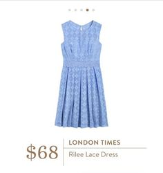 Stitch Fix: London Times Rilee Lace Dress - This dress is EVERYTHING. Love the color and it would be PERFECT for my daughter's First Communion in May.