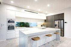 modern kitchen all white kitchen ideas the life creative window splashback