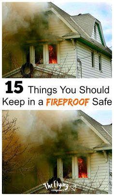 Things You Should Keep in a Fireproof Safe.